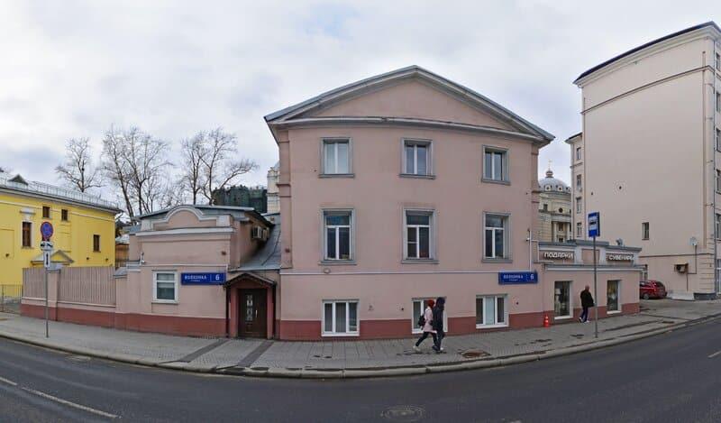 Москва, Волхонка дом 6 строение 5